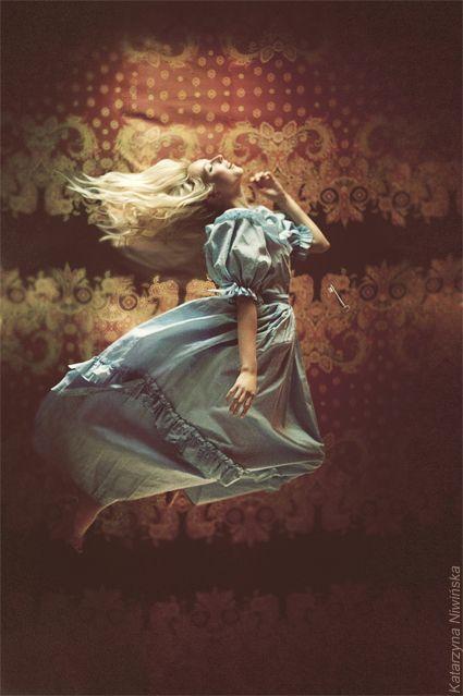 """The Look: Wonderland - """"Alice"""" by Katarzyna Niwińska, via Behance"""