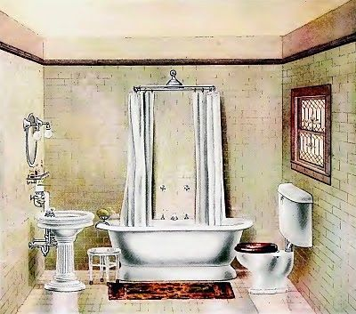 Bathroom in the 1920's ?