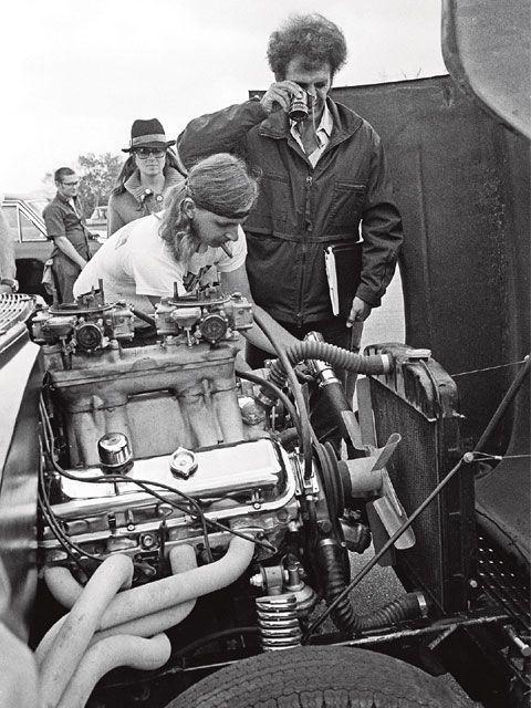 two lane blacktop chevy engine