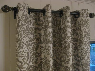 No sew curtains with gromets.  At the top of my to do list.Diy Curtains Out Of Sheet, Home Ideas, Diy Grommet Curtains, No Sewing Curtains, Shower Curtains, Curtains Diy No Sewing, Diy Curtains No Sewing, No Sew Curtains, Windows Treatments