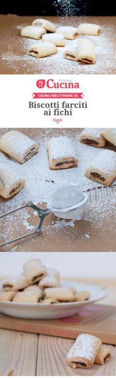 Biscotti farciti ai fichi della nostra utente Beatrice. Unisciti alla nostra Community ed invia le tue ricette!