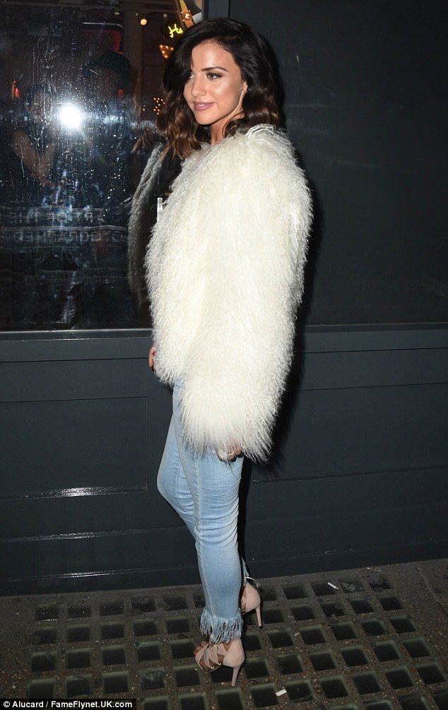 She's got style: All eyes were on the former TOWIE star when she stepped out in the cute w...