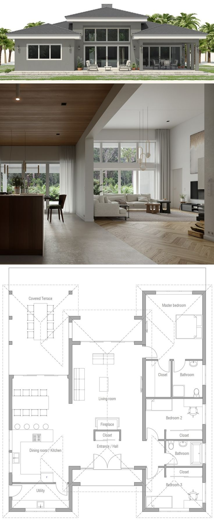 House Plan CH573