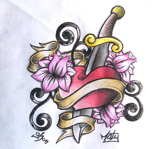 Los Mejores Corazones Hechos A Lapiz Por Artistas Colorful Drawings Cool Drawings Floral Rings