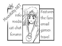"First layout of the site after changing to ""Moonkitty.NET"". Way back in Feb 2000!"