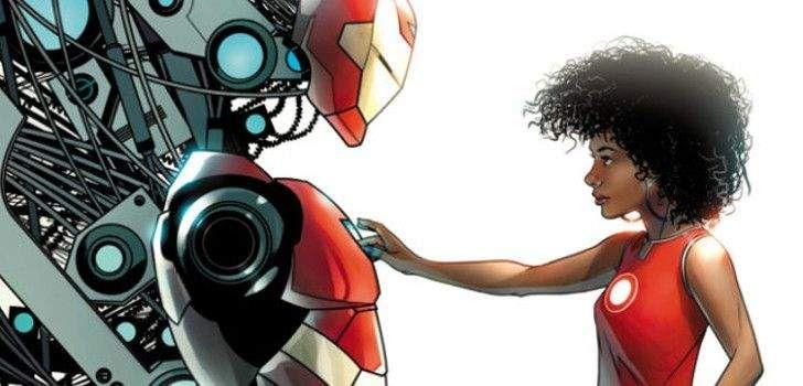 Depois da revelação que Riri Williams assumirá o manto do Homem de Ferro nas próximas aventuras da Marvel nos quadrinhos, muitos fãs tem se perguntado qual seria o nome super-heróico da moça, se ela ganharia um título original ou se realmente usaria Iron Man/Homem de Ferro em suas rondas. Agora, na capa de Invincible Iron …