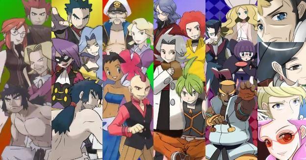 Top 10 Pokemon Elite Four Members | Pokemon Alpha Sapphire