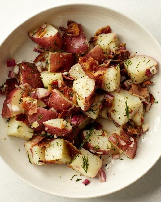 German Potato Salad   Recipe   Potato salad, Apple cider and Bacon