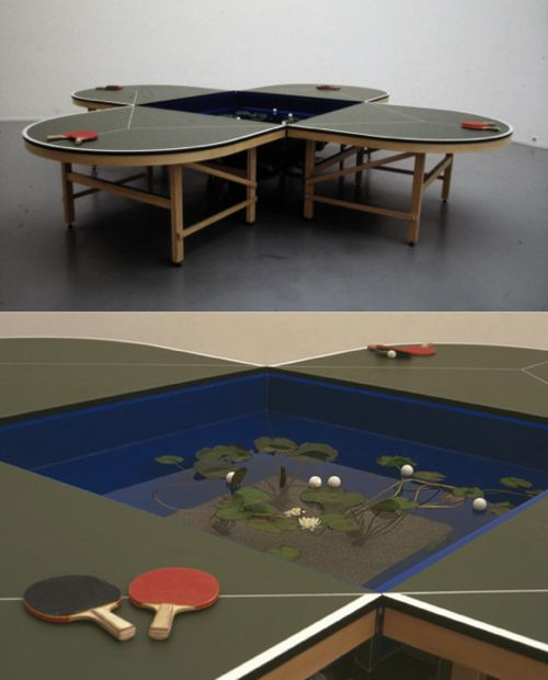 Now THAT'S ping-pong.