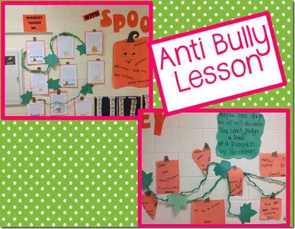 Using Book, Spookley for Anti-Bullying Lesson