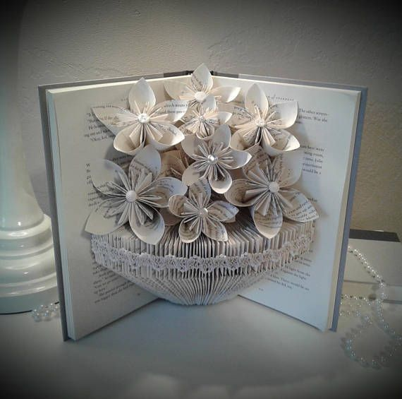 Hey, I found this really awesome Etsy listing at https://www.etsy.com/listing/574779400/book-sculpture-altered-book-book-bouquet