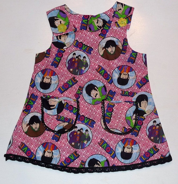 Beatles Shift Dress  3T by CharlieandMeshop on Etsy, $22.00Shift Dresses, Beatles Shift, Dresses 3T