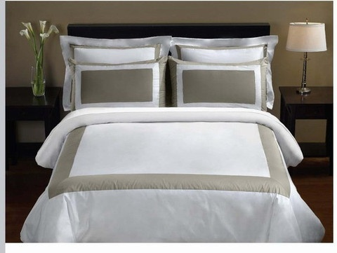 Luxury 5-PC Hotel bedding are made of 100% Egyptian cotton with 300 Thread count Fabric.