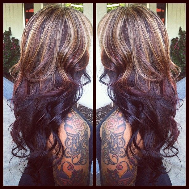 ❤ @Leann T Renner  I really miss my hair looking similar to this!! I HAVE got to get in to see you!! :(