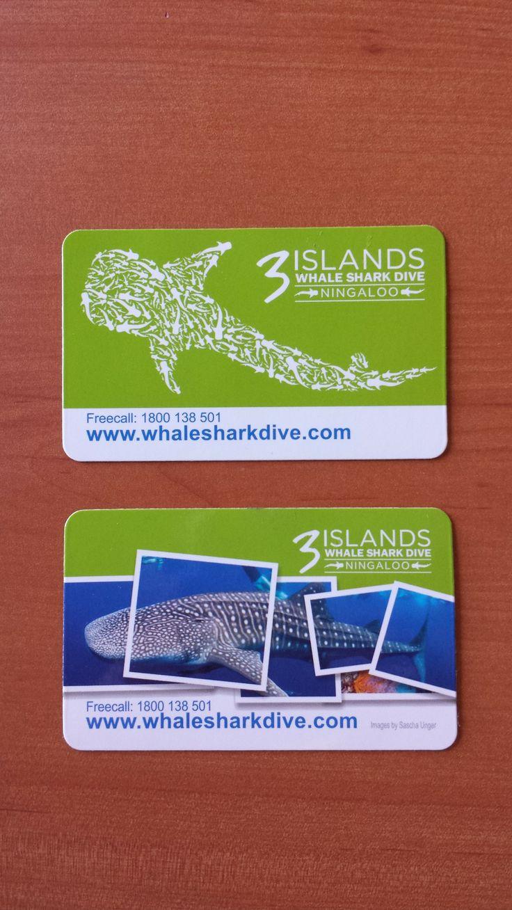Fridge Magnets for 3 Islands Whale Shark Dive Ningaloo