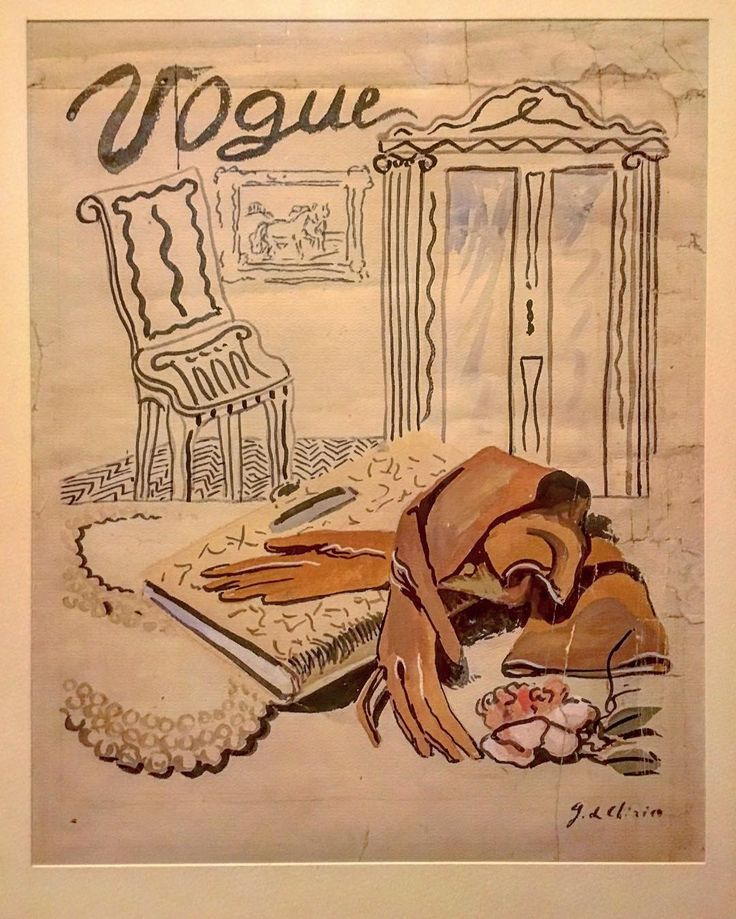 #Vogue cover by Giorgio De Chirico at Casa Rodolfo Siviero in Florence. Funny to know that the artist gave this watercolor to Rodolfo Siviero as a present within a frame and in the back wrote: I give you the design for free but the frame costs 300.000 lire!#firenzebyalexcommentator #firenze #florence #rodolfosiviero #igerstoscana #igersfirenze #unusualflorence #unespectedflorence #giorgiodechirico #dechirico #voguecover #fashionhistory #fashionculture #anecdotes #metaphysicalart #italianart