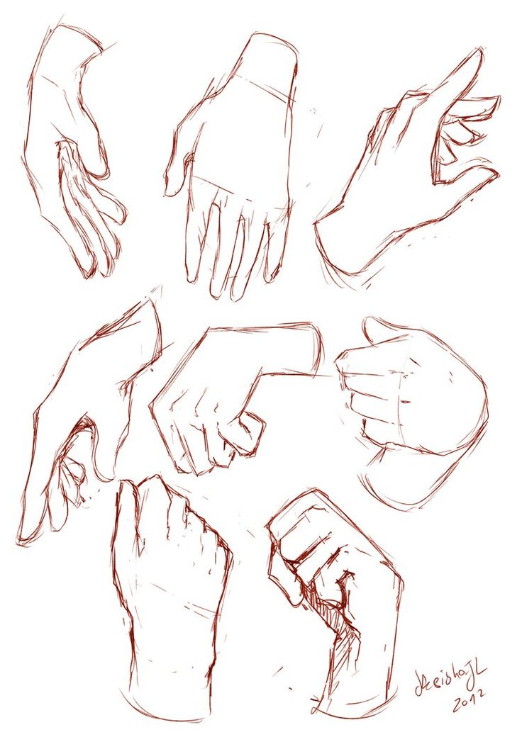 How To Draw Using Your Hands