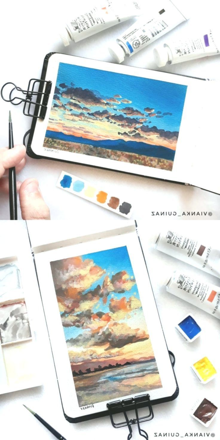 Idea By June Phoenyxx On Art In 2020 Watercolor Art Lessons