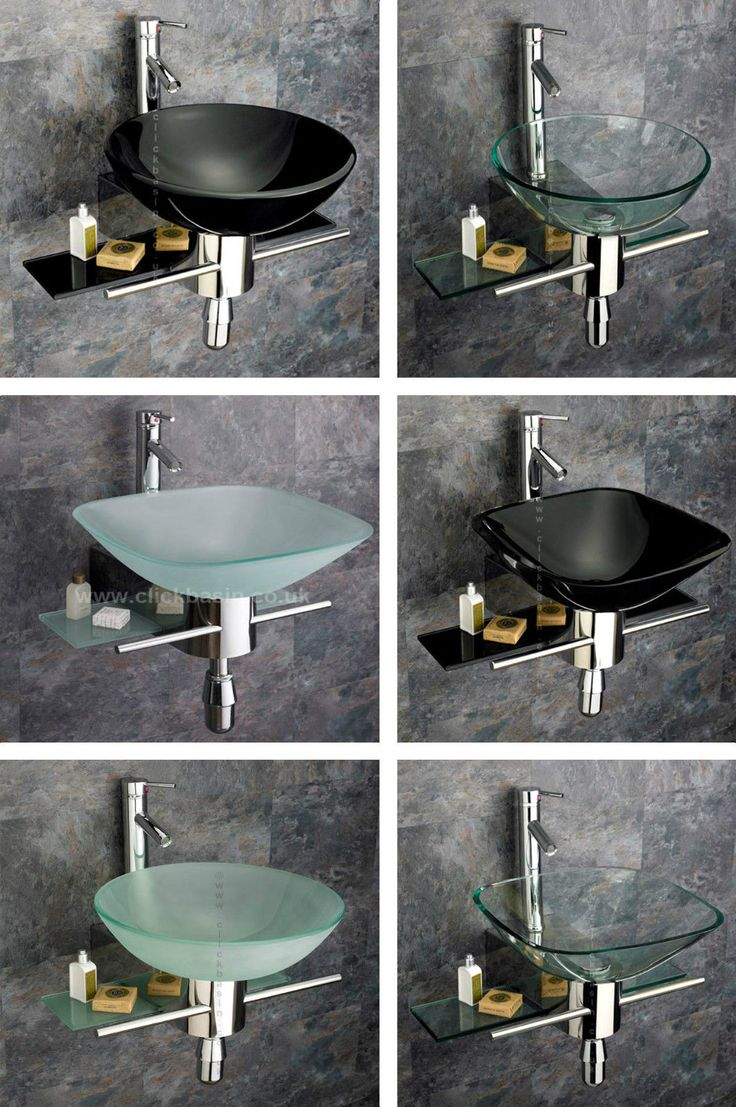 1000 ideas about glass basin on pinterest round sink basins and bathroom cabinets - Glass cloakroom basin ...