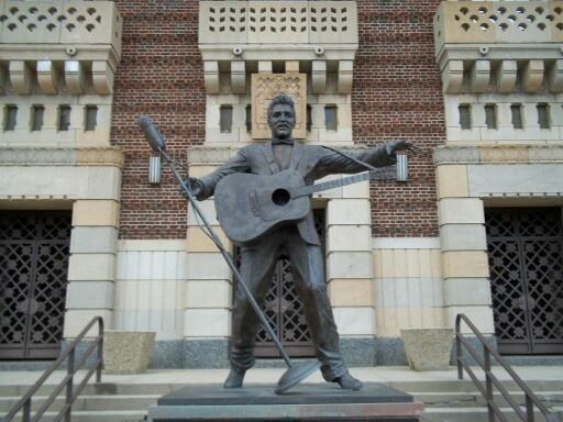 Elvis Statue Shreveport Municipal Auditorium Elvis