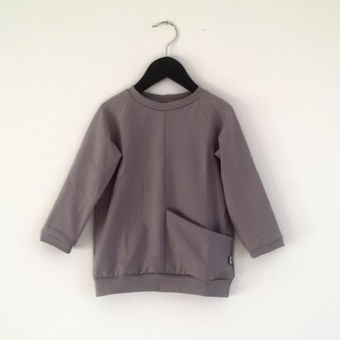 Pocket Sweatshirt - Light Grey