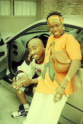 Pac and his mom