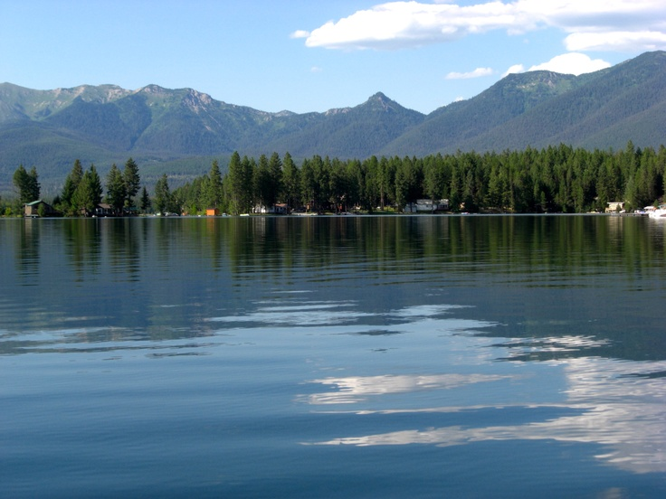 Echo Lake, Bigfork Montana. Near the Jewel Basin w/ hiking & horseback trails