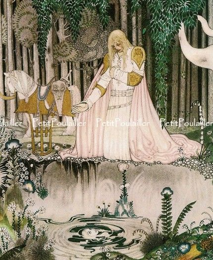 The beautiful art of Writer and Artist, Kay Neilsen, a man who brought myth and magic to life~ Fairy Tale Art
