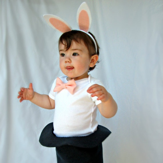 Magic Rabbit In A Hat Costume Funny Easter by TheWishingElephant, $43,00