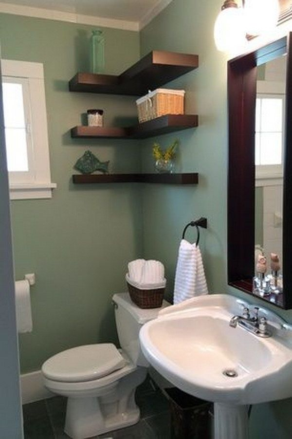 The 25 best over toilet storage ideas on pinterest Over the toilet design ideas