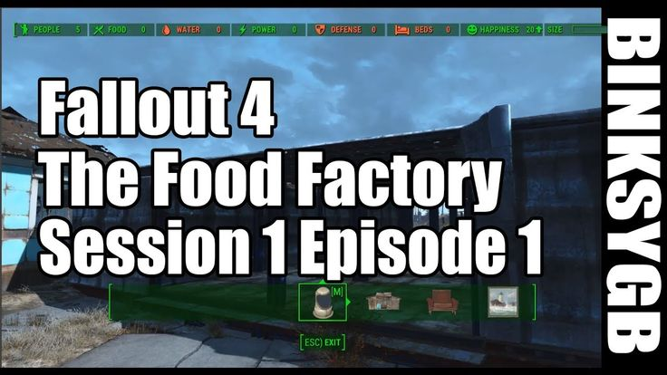 I Started a YouTube Series on Building Multiple Food Factories to Make Caps SPOILERS #Fallout4 #gaming #Fallout #Bethesda #games #PS4share #PS4 #FO4