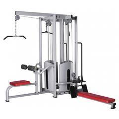HATTRICK MGS-24 4 STATION TEKNİK ÖZELLİKLER Ölçüler : 2203x2450x2500 mm. Ağırlık : 340 kg. Net Ağırlık : 460 kg. Brüt Ağırlık : 475 kg. ? Lat Pull ? Row Machine ? Biceps Machine ? Triceps Machine