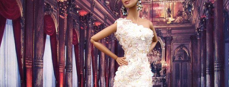 Stunning party looks #BarbieStyle #BarbieFashion #DollStyle #DollFashion #FashionRoyalty  #PlasticallyPerfect