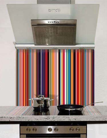 Die besten 25+ Küche Rückwände aus Glas Ideen auf Pinterest - glasbilder k che spritzschutz