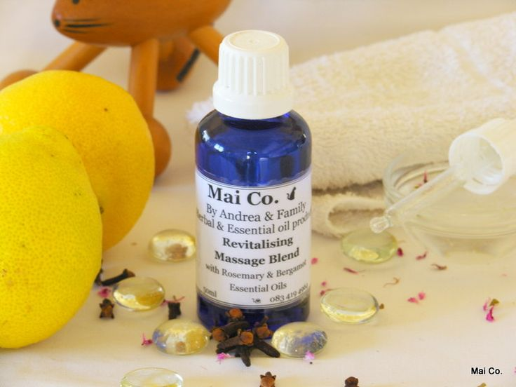 Mai Co Rejuvenating Blend - made with oils of Rosemary & Bergamot. When you are in desperate need of a 'pick-me-up""