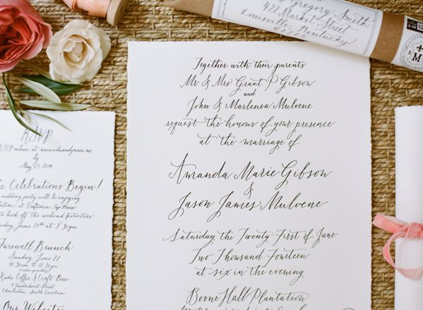 Should Wedding Invitations Be Hand Addressed: 25+ Best Handwritten Wedding Invitations Ideas On