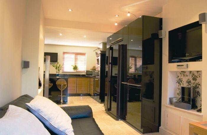 idée aménagement cuisine transformer un garage en habitation - Amenagement Cuisine En U