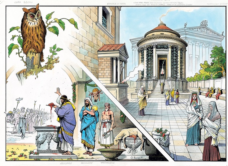 roman religion in a romans everyday Religion played a very important role in the daily life of ancient rome and the romans roman religion was centred around gods and explanations for events usually.