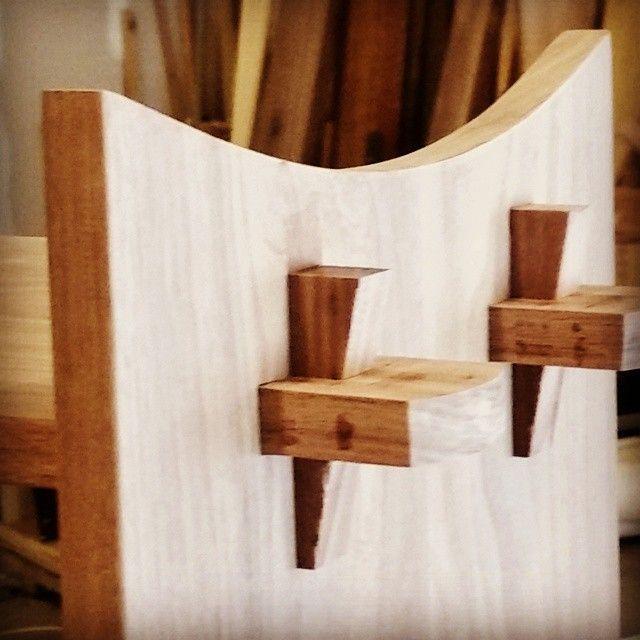 Japanese shelf assembled.  #customfurniture #handcrafted #imake #iliketomakestuff