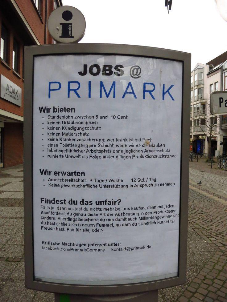 Primart sucht Mitarbeiter (Adbusting in Braunschweig)
