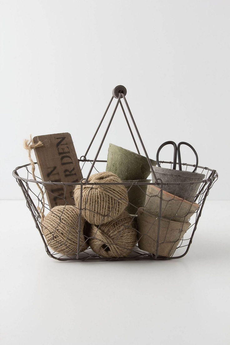 72 best images about gift baskets on pinterest lady for Gardening tools gift basket