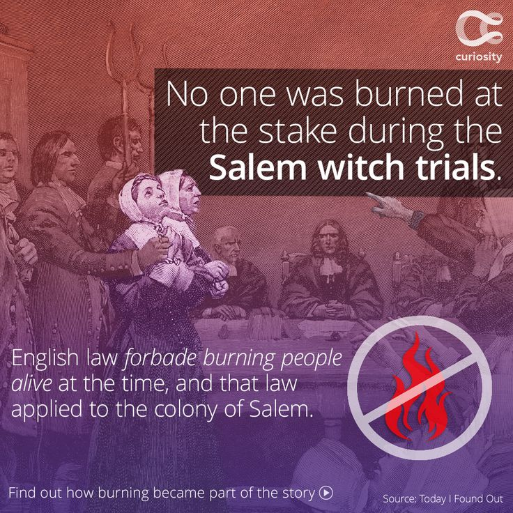 a discussion of the causes of the salem witchcraft trials Salem witch trials critical essays many factors must be considered in examining the causes of the witchcraft belief in witchcraft was prevalent additionally.