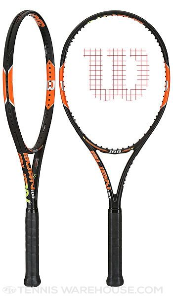 WIlson Burn tennis racquets are now available!