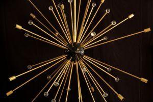 Lampadario Sputnik sfere cristallo