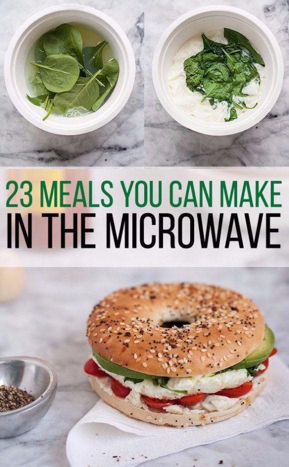 23 Dorm Room maaltijden u kunt maken in een magnetron