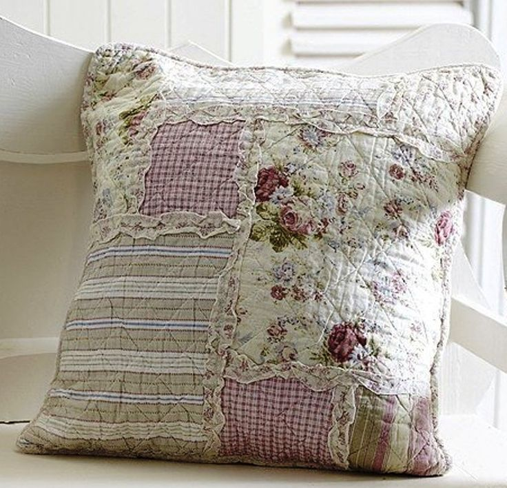 I have some pillow covers kind of like this, but I like this better. Hmmm.