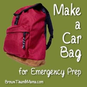 Learn everything you should pack in your car in case disaster strikes while you're away from home. How long would it take you to walk to safety?