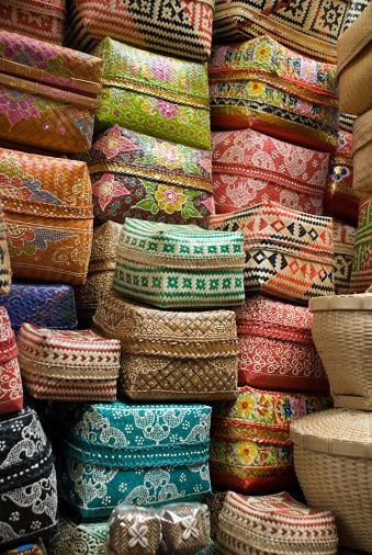Bali baskets ~ known as keben, are generally used for offerings - via Getty Images