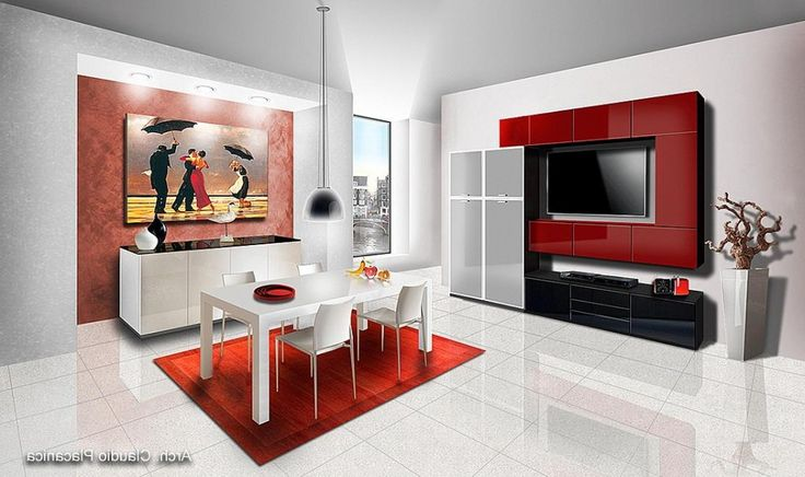 http://www.drissimm.com/wp-content/uploads/2015/04/Modern-white-dining-set-with-red-rug-decoration.jpg