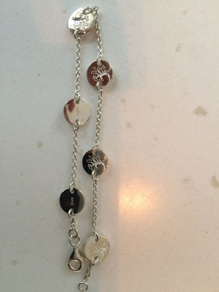Famliy bracelet with names of the family members